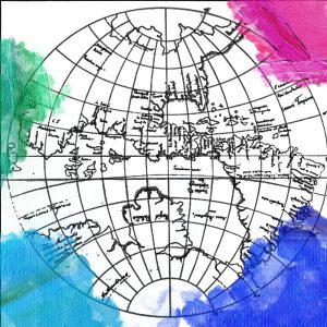 Prent: Johannes Schöner (1533) Weimer Globe, western hemisphere. https://commons.wikimedia.org/wiki/File:Johannes_Schoner_globe_1533_f_m02.png